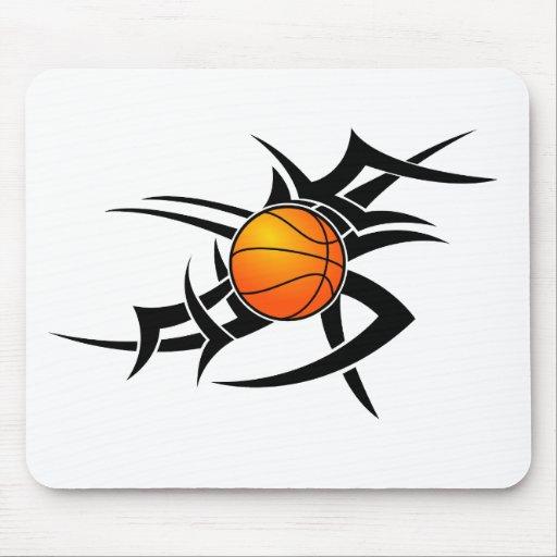 Baloncesto Mousepad tribal