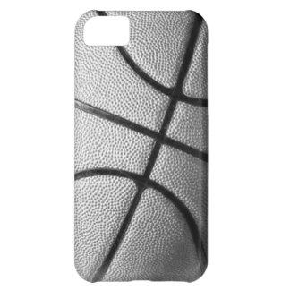 Baloncesto negro y blanco carcasa iPhone 5C