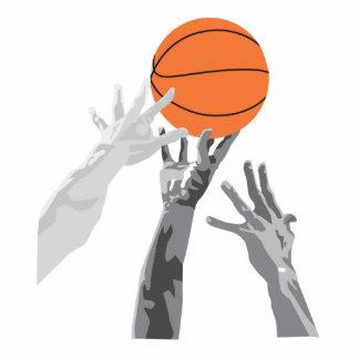 baloncesto para arriba para el diseño del vector d esculturas fotográficas