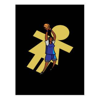 Baloncesto para mujer postales