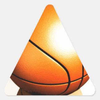 Baloncesto Calcomanías De Triangulos Personalizadas