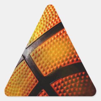 Baloncesto Calcomanías De Trianguloes Personalizadas