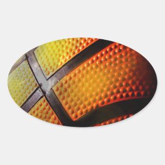 Baloncesto Pegatinas De Ovaladas