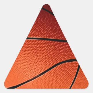 Baloncesto Calcomanías Trianguladas Personalizadas