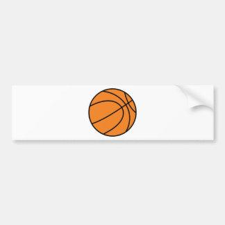 baloncesto pegatina para coche