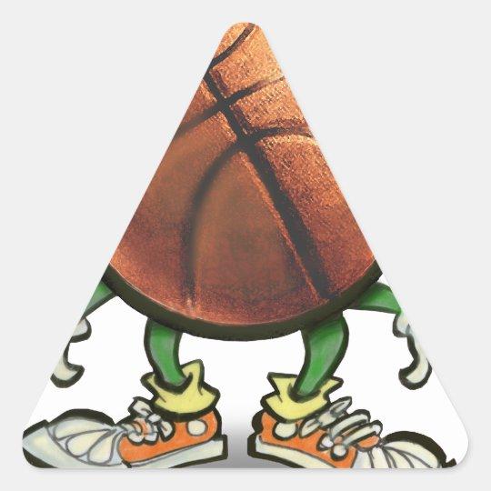 Baloncesto Pegatina Triangular