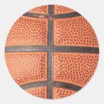 Baloncesto Pegatinas Redondas
