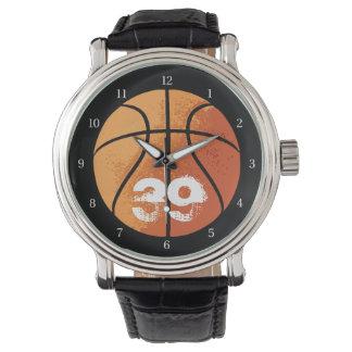 Baloncesto (Personalizable) Reloj De Mano