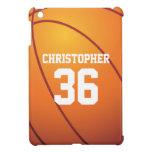 Baloncesto personalizado iPad mini fundas