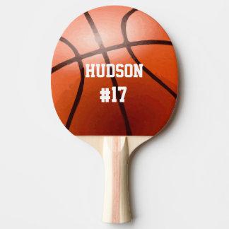 Baloncesto personalizado pala de tenis de mesa
