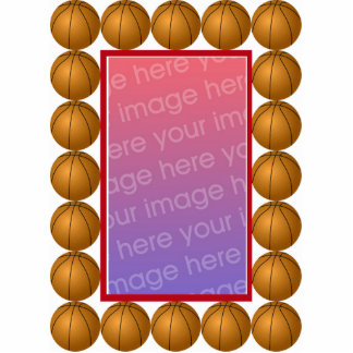 Baloncesto Photoframe Fotoescultura Vertical