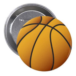 Baloncesto Pin Redondo De 3 Pulgadas