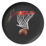Baloncesto Plato De Comida