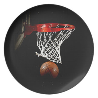 Baloncesto Plato Para Fiesta