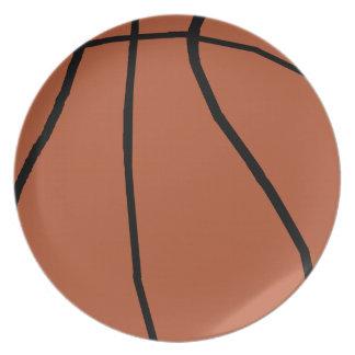 Baloncesto Platos De Comidas