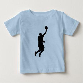 Baloncesto Player_2 Playera De Bebé