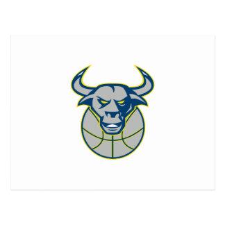 Baloncesto principal de Bull del fonolocalizador d Tarjeta Postal