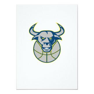 Baloncesto principal de Bull del fonolocalizador Invitacion Personal
