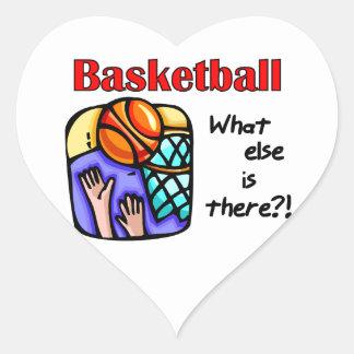Baloncesto qué más camisetas y regalos colcomanias de corazon personalizadas