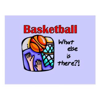 Baloncesto qué más camisetas y regalos tarjeta postal