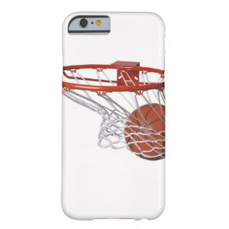 Baloncesto que pasa a través de aro funda de iPhone 6 barely there