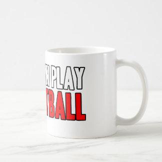 Baloncesto real del juego de los hombres taza