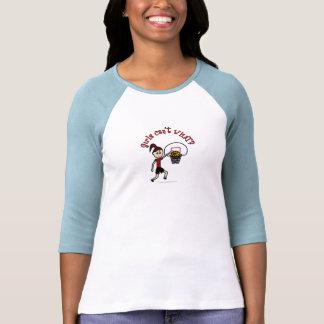 Baloncesto rojo claro camiseta