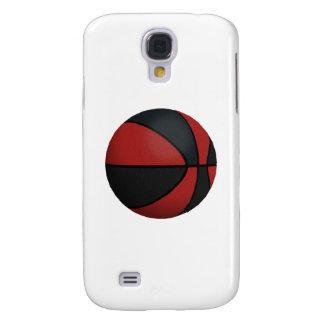 Baloncesto rojo y negro: funda para galaxy s4