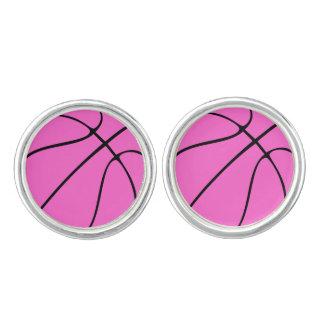 Baloncesto rosado de encargo gemelos