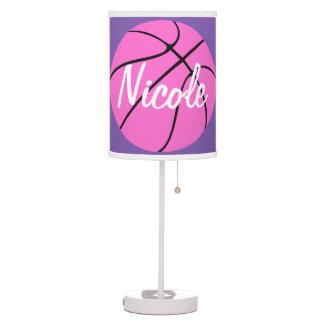 Baloncesto rosado lindo