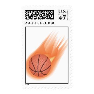 baloncesto sello postal