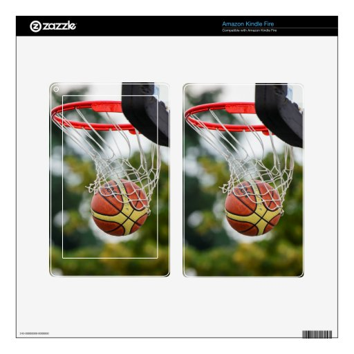 Baloncesto Skin Para Kindle Fire