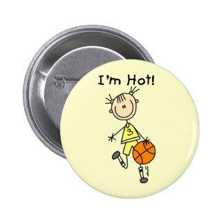 Baloncesto soy camisetas y regalos calientes