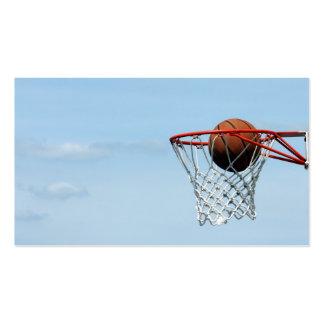 Baloncesto Tarjeta Personal
