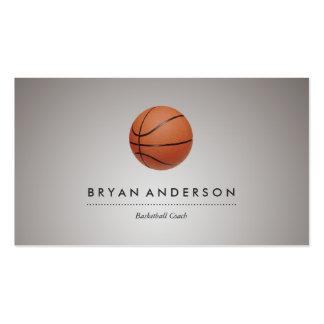 Baloncesto - tarjeta de visita personal