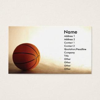 Baloncesto Tarjetas De Visita