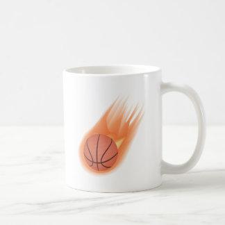 baloncesto taza básica blanca