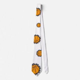 baloncesto. tribal corbata personalizada