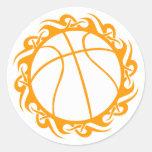 baloncesto. tribal pegatinas