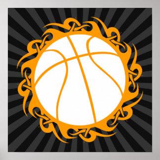 baloncesto: tribalz póster