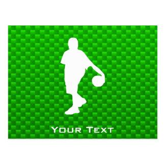 Baloncesto verde postales