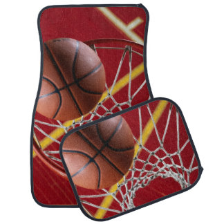 Baloncesto y alfombrillas de auto del aro (fije de alfombrilla de auto