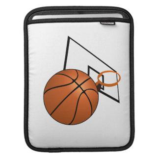 Baloncesto y aro mangas de iPad