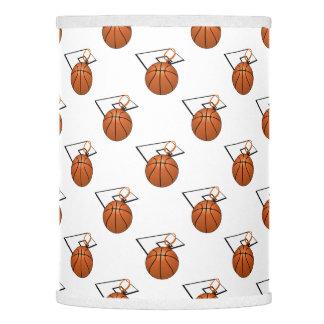 Baloncesto y aro pantalla de lámpara