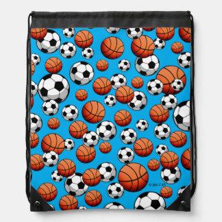 Baloncesto y fútbol mochilas