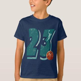Baloncesto y jugador del número 23 playera