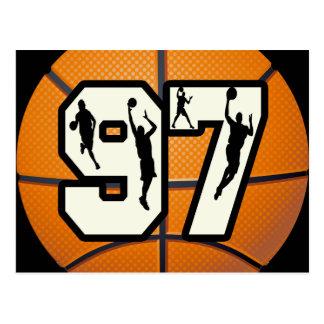 Baloncesto y jugadores del número 97 postal