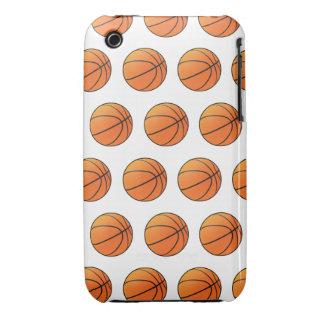 baloncestos 3d (fondo editable!) iPhone 3 protectores