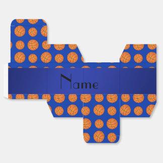 Baloncestos azules conocidos personalizados cajas para regalos de fiestas
