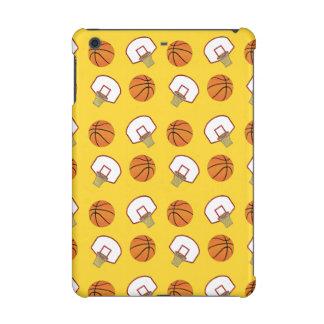Baloncestos y modelo amarillos de las redes